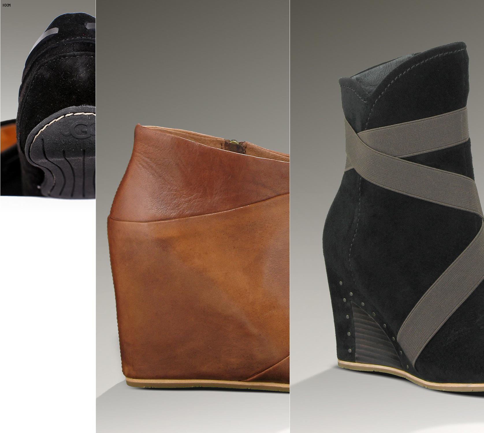 marca popular 100% de alta calidad nuevo estilo botas tipo ugg con cuña